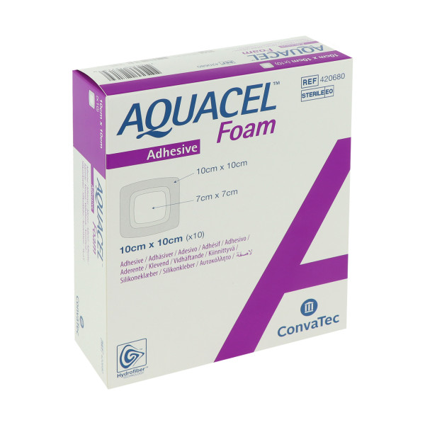 ConvaTec Aquacel Foam adhäsiv, haftender Schaumverband