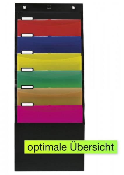 Hänge-Orga-Mappe/Fächermappe für A4 zur Organisation von Unterlagen