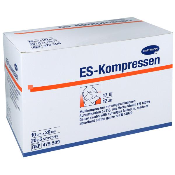 ES-Kompressen, Mullkompressen, steril und unsteril
