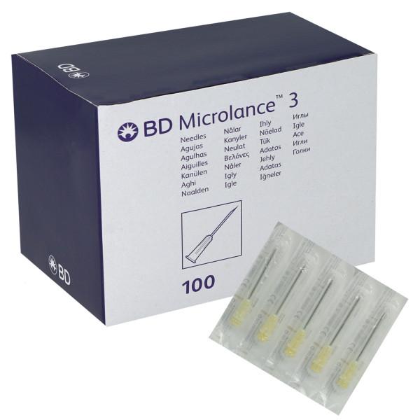Becton Dickinson BD Microlance 3 Sonderkanülen mit dreifachem Facettenschliff
