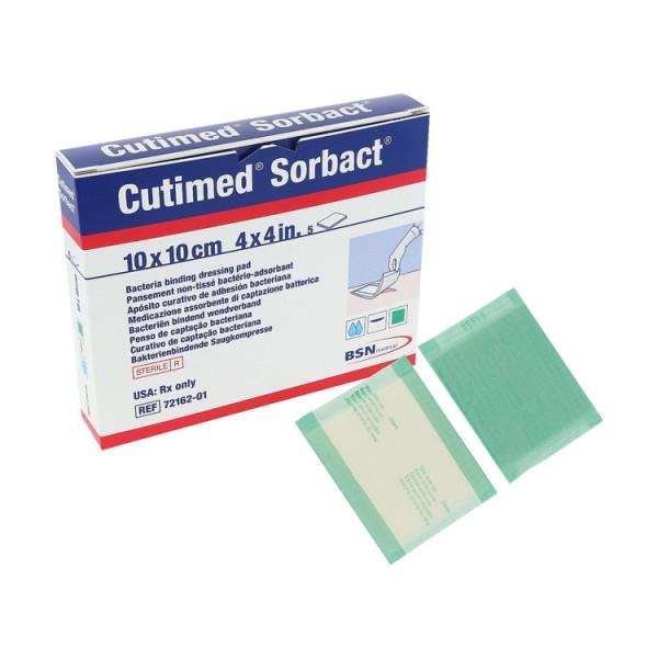 Cutimed® Sorbact® hydrophober Wundverband, Saugkompresse
