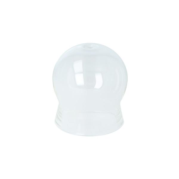 Schröpfglas aus Glas, ohne Ball, ohne Olive