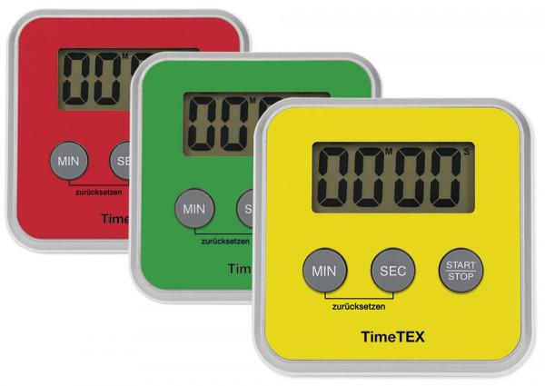 """TimeTEX Zeitdauer-Uhr """"Digital"""" compact, gelb"""