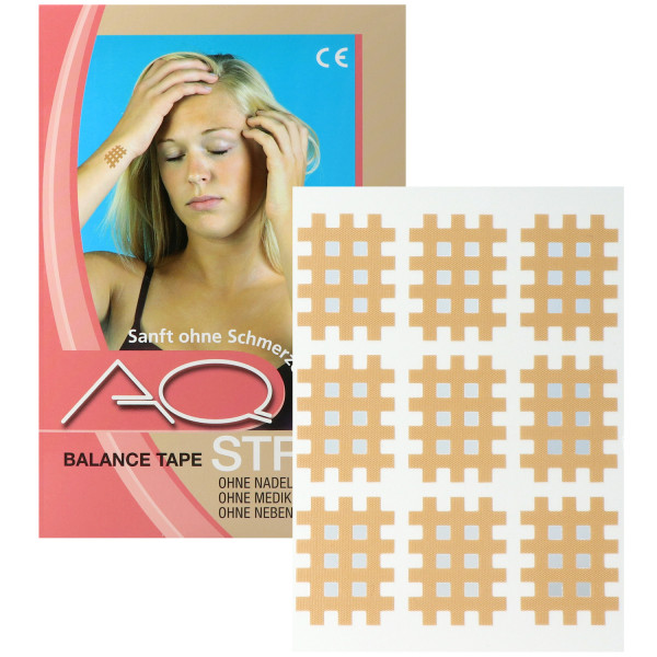 AQ-Strip Gittertape zur Kinesiologie