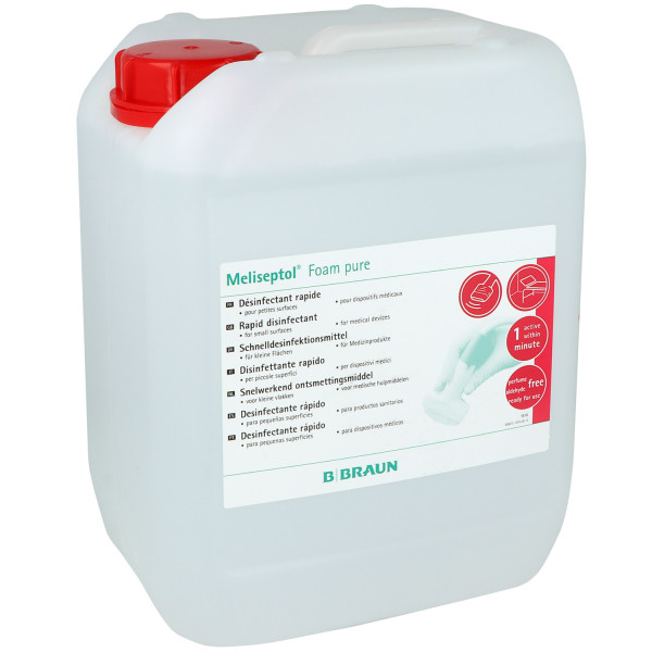 B. Braun Meliseptol® Foam pure - Schaum zur Schnelldesinfektion von Medizinprodukten und kleinen Flä