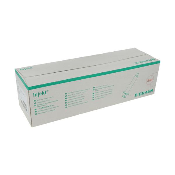 B. Braun Injekt® solo Einmalspritzen, Luer- Ansatz