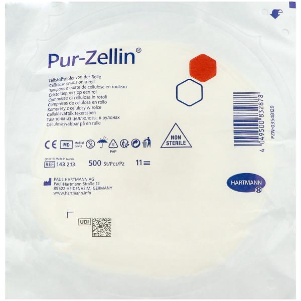 Paul Hartmann Pur-Zellin® Zellstofftupfer, steril und unsteril, Rolle mit 500 Stück