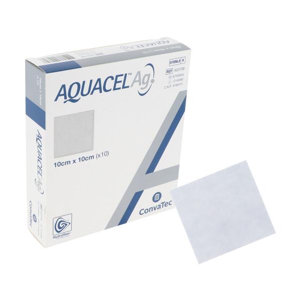 ConvaTec Aquacel Ag silberhaltige Kompressen