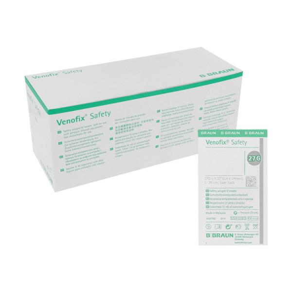 B. Braun Venofix® Safety Punktionskanüle, Venenpunktionsbesteck mit Sicherheitsmechanismus