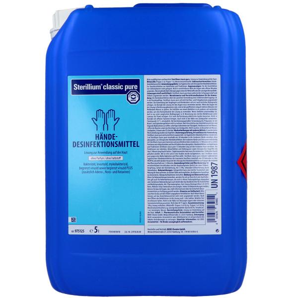Bode Sterillium classic pure Händedesinfektion
