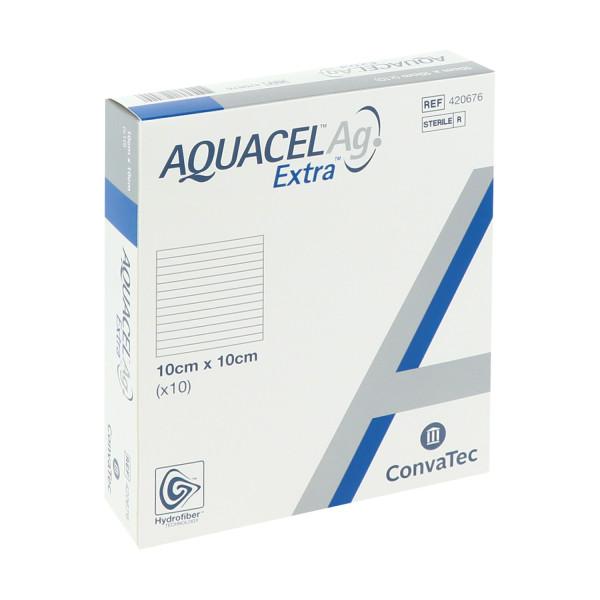 ConvaTec Aquacel Ag Extra, silberhaltige Kompressen