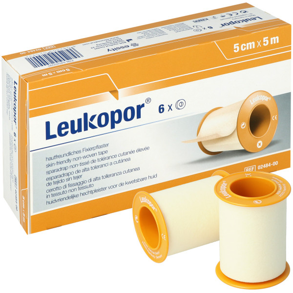 Leukopor® - Fixierpflaster/Rollenpflaster für empfindliche Haut