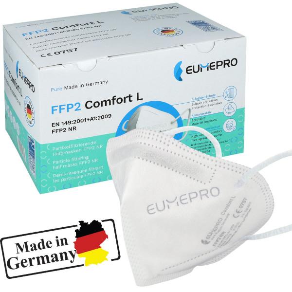 EUMEPRO FFP2 Atemschutzmaske CE0757 50 Stück