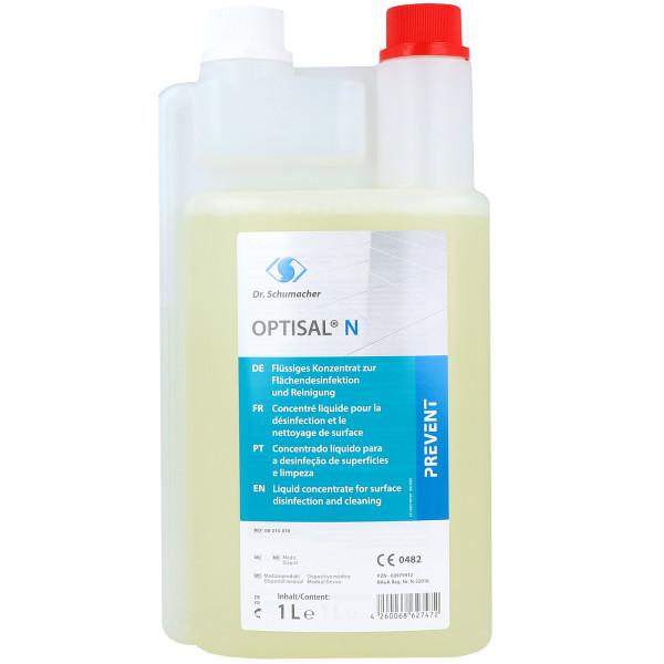 Optisal N, flüssiges Konzentrat zur Flächendesinfektion und Reinigung