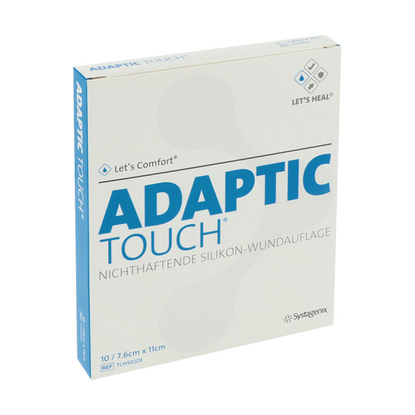 Adaptic Touch nichthaftende Silikon-Wundauflage