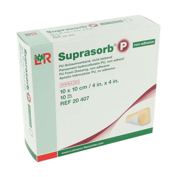 Lohmann & Rauscher Suprasorb® P, PU-Schaumverband, selbstklebend und nicht klebend