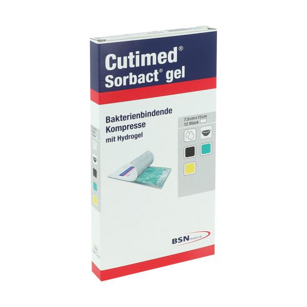 Cutimed® Sorbact® Gel, keimreduzierende Wundauflage