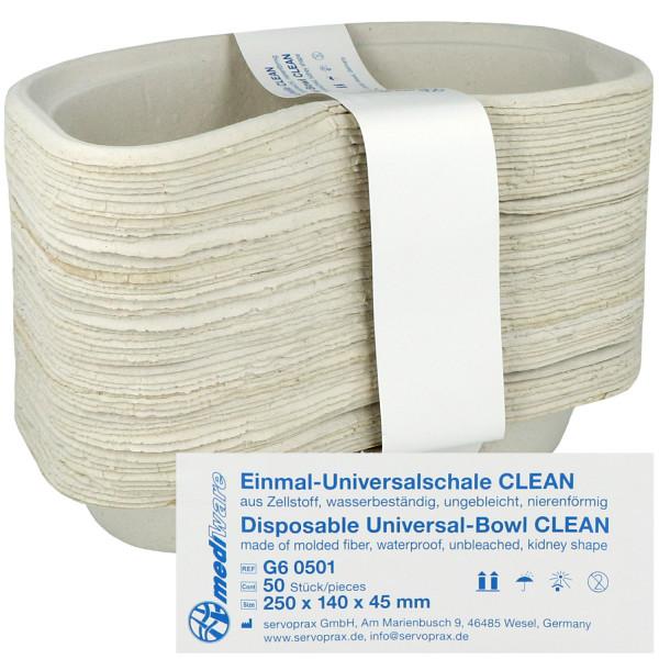 Mediware Einmal-Nierenschale Clean, weiß