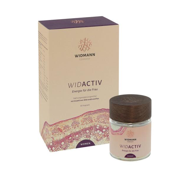 WIDACTIV Women - Mikronährstoffe für Energie, Kraft und Leistungsfähigkeit für die Frau