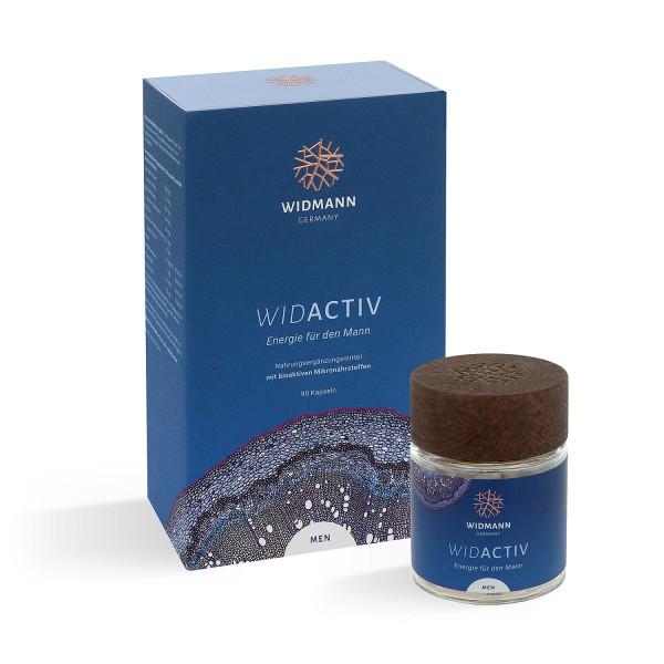 WIDACTIV Men - Mikronährstoffe für die Stärkung des Energiehaushaltes des Mannes
