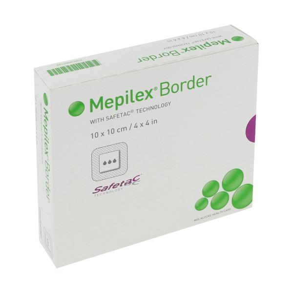 Mölnlycke Health Care Mepilex Border Schaumverband mit Haftrand, steril