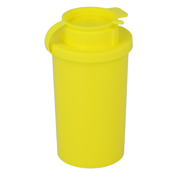 USON Entsorgungsbehälter/Kanülenabwurfbehälter zur sicheren Entsorgung von Spritzen und Kanülen