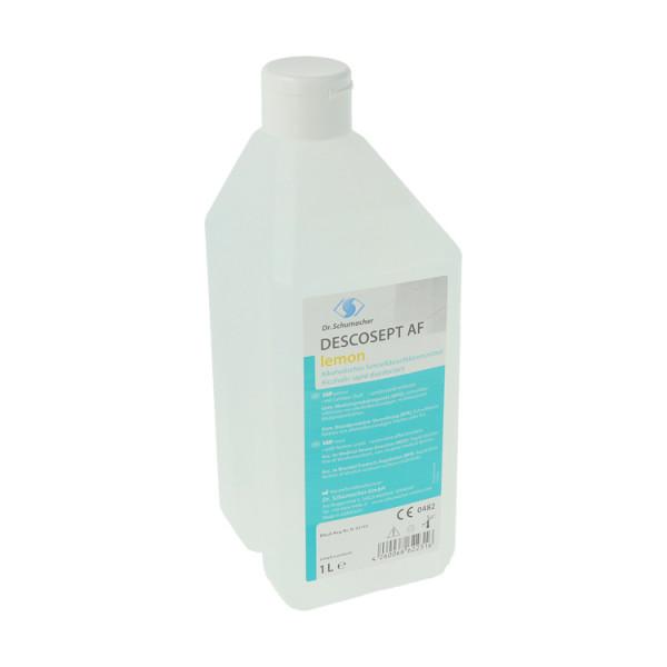Dr. Schumacher Descosept AF Lemon, alk.Schnelldesinfektion, Lösung mit frischem Lemon-Duft