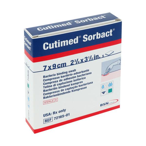 Cutimed® Sorbact® hydrophober Wundverband, Kompresse