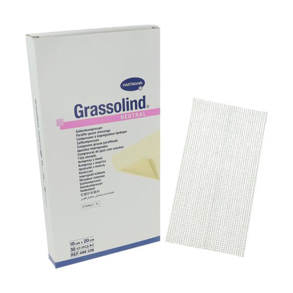 Grassolind® wirkstofffreie Salbenkompressen