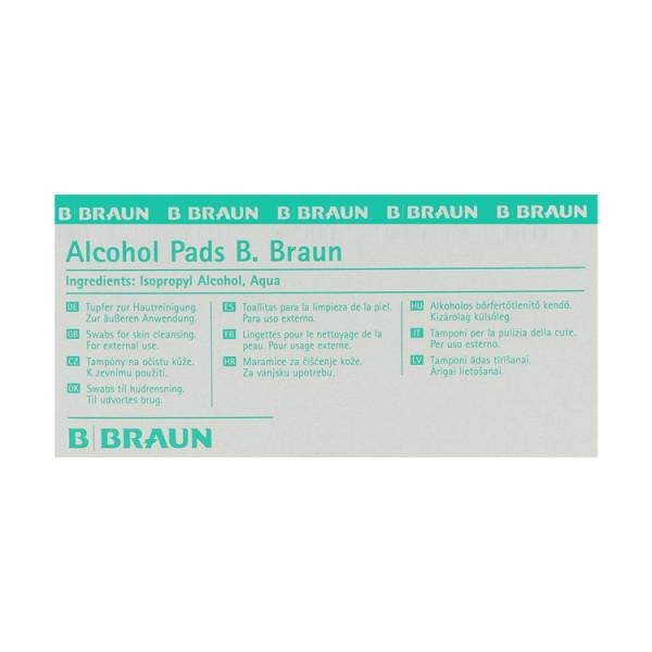 B. Braun Alcoholpads, Tupfer, 32x67mm, 100 St.