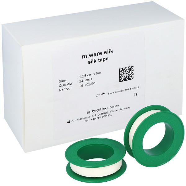 m.silk Seidenpflaster/Rollenpflaster zur Verbandfixierung