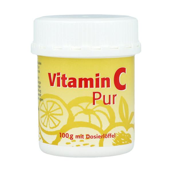Vitamin C Pur Pulver, 1 x 100 g