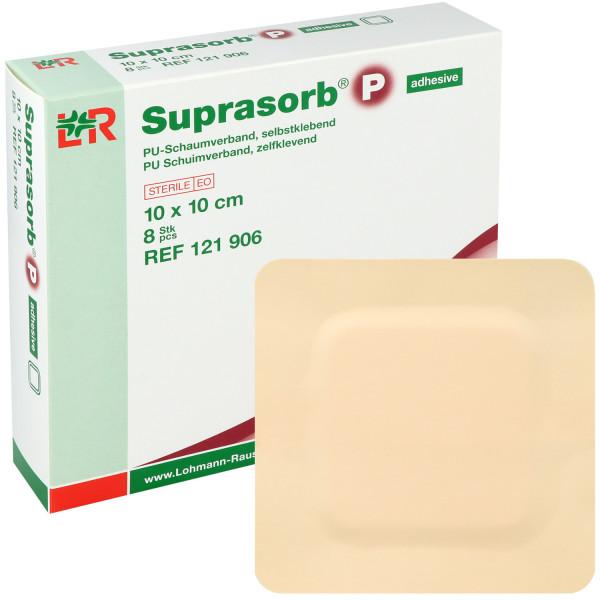 Suprasorb® P, PU-Schaumverband, selbstklebend und nicht klebend