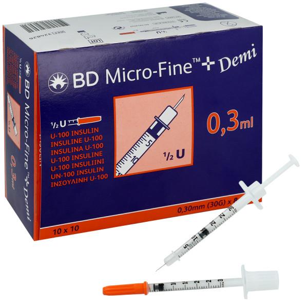 Insulinspritze MICRO-FINE+ von BD