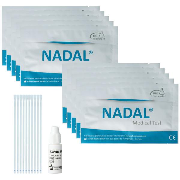 Nadal Covid-19 IgG/IgM Antikörper Schnelltest, Proben: Vollblut/Serum/Plasma, qualitative Bestimmung