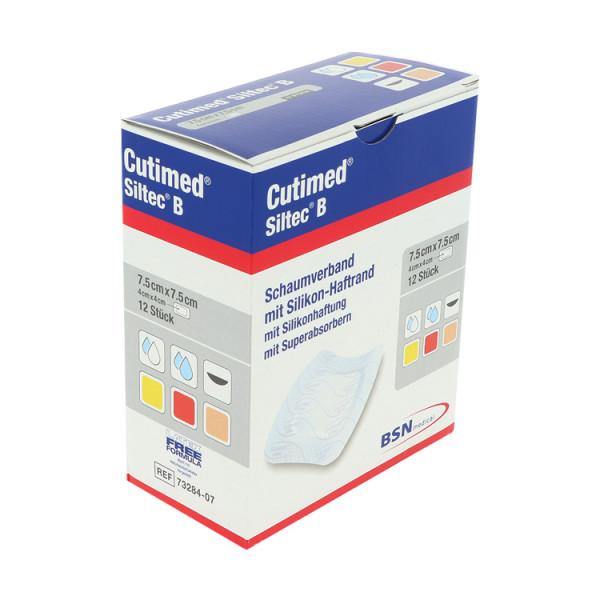 Cutimed® Siltec® B, hochabsorbierender Schaumverband