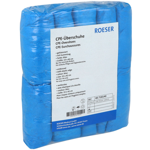 ROESER OP-Überschuhe / CPE mit Chlor