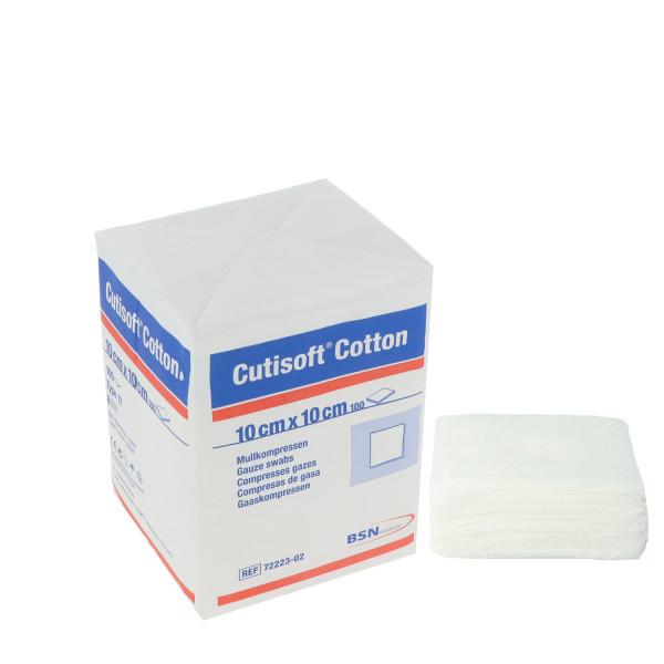 Cutisoft® Cotton, Baumwollkompressen 8-fach