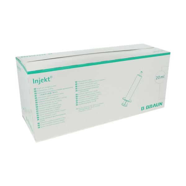 B. Braun Injekt® LL Einmal-Spritzen, Luer-Lock-Ansatz, zentrisch