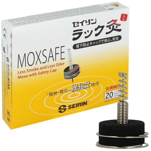Seirin Moxasafe - Moxaaufsatz zur rauchfreien und geruchlosen Wärmetherapie