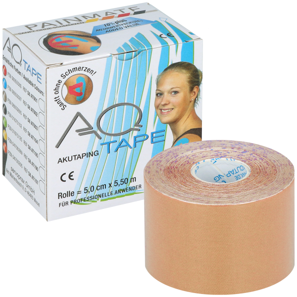 Diaprax AQ-Tape für kinesiologisches Taping - 1 Rolle