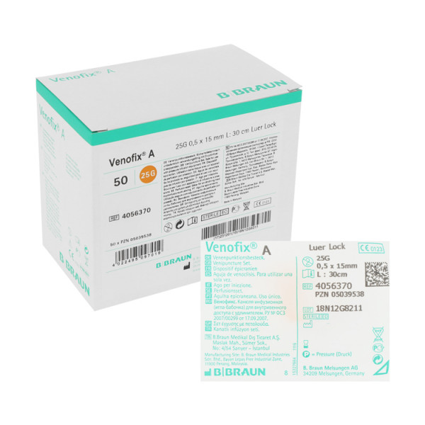 B. Braun Venofix® A Punktionskanüle, Venenpunktionsbestecke