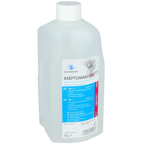Aseptoman Gel, alkoholisches Händedesinfektionsmittel