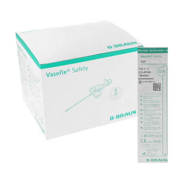 B. Braun Vasofix® Safety, Sicherheitsvenenverweilkanüle mit Zuspritzport