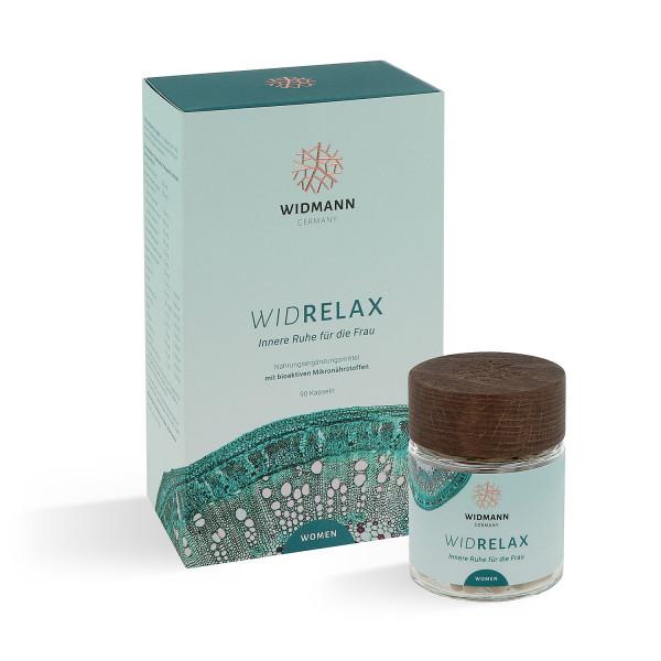 WIDRELAX Women - Vitaminkombination für Frauen zum Entspannen und zur Entschleunigung