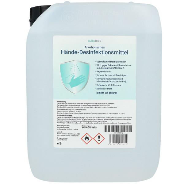 AVITAMED, alkoholisches Händedesinfektionsmittel, feuchtigkeitsspendend