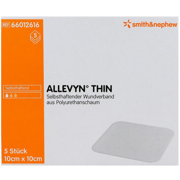 Smith & Nephew ALLEVYN Thin, Schaumverband mit extra dünner Wundauflage