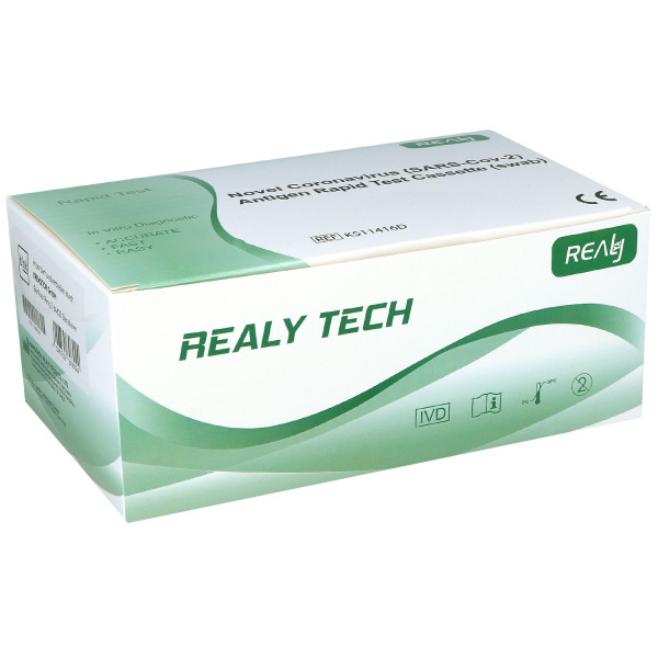 Covid-19 Antigen Schnelltest blnk Novel #30800 (SARS-CoV-2) Antigen Rapid Test Cassette (Swab)