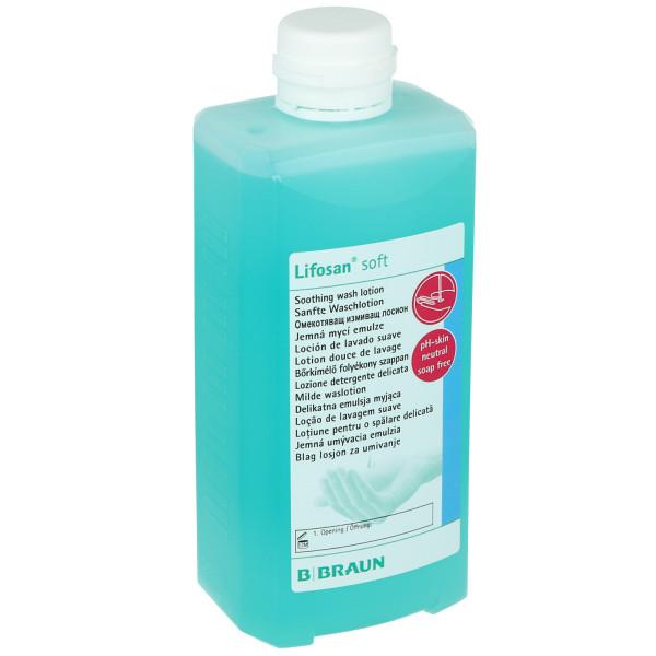 Lifosan®soft - Waschlotion mit hautneutralem pH-Wert